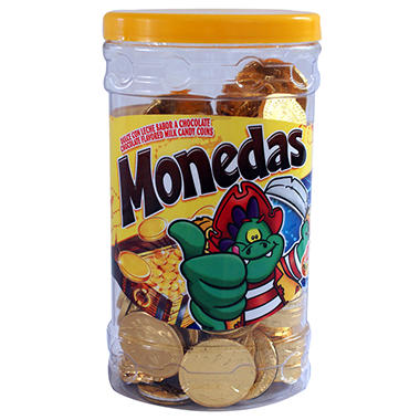 Monedas Oro Jar - 120 pcs. - 27.6 oz.