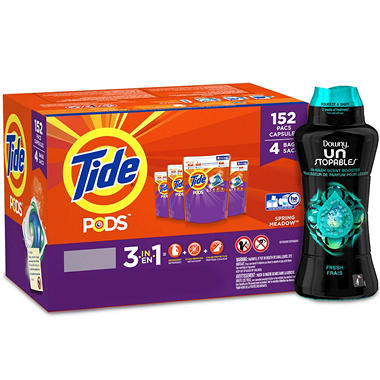 Tide Spring Meadow Pods and Downy Unstopable Fresh Bundle