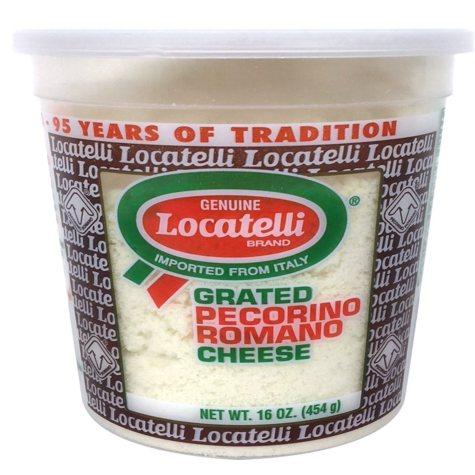 Locatelli Grated Pecorino Romano Cheese (16 oz.)