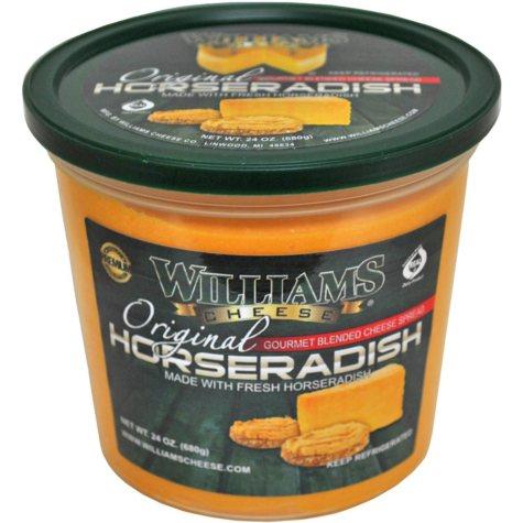 Williams Cheese Original Horseradish Spread (24 oz.)