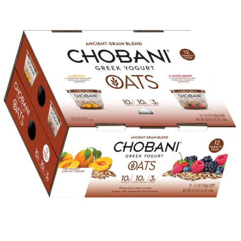 Chobani Greek Yogurt Ancient Grain Blend (12 ct.)