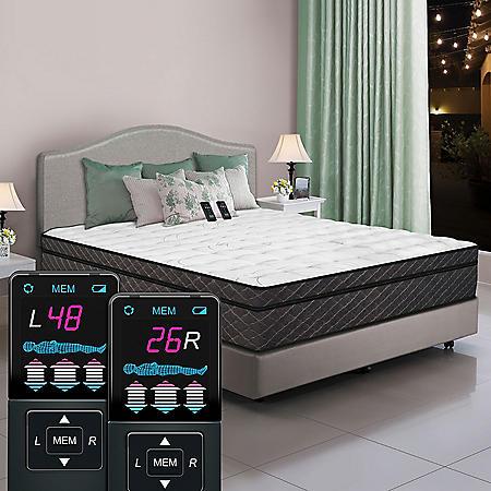 Dual Digital Reflections Pillowtop Air Bed Cal King Sam