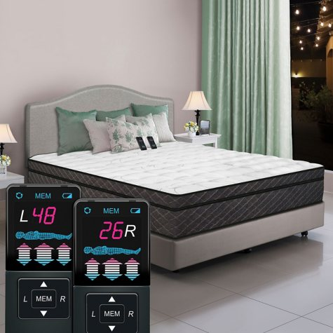 Dual Digital Reflections Pillowtop Air Bed - Cal King