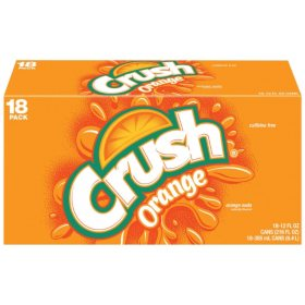 Crush Orange Soda (12 oz. cans, 18 pk.)