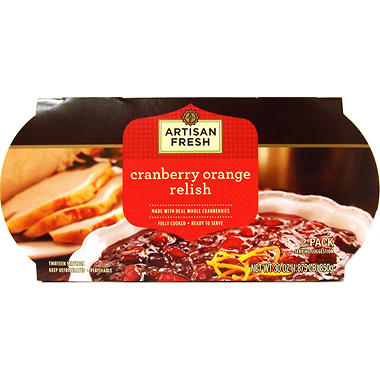 Artisan Fresh Cranberry Orange Relish - 30 oz.