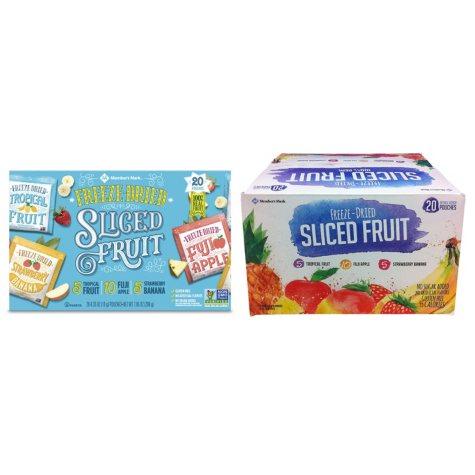 Member's Mark Freeze-Dried Fruit Snacks (20 ct.)