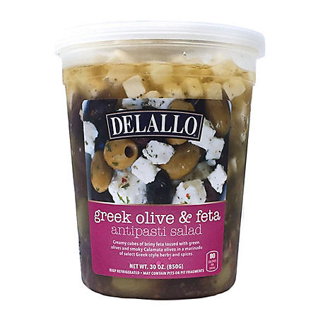 DeLallo Greek Olive & Feta Antipasti Salad (30 oz.)