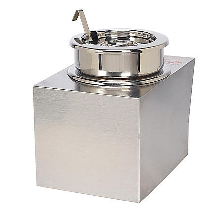 Gold Medal® 2365SC Nacho Cheese Warmer w/ Insert Bowl