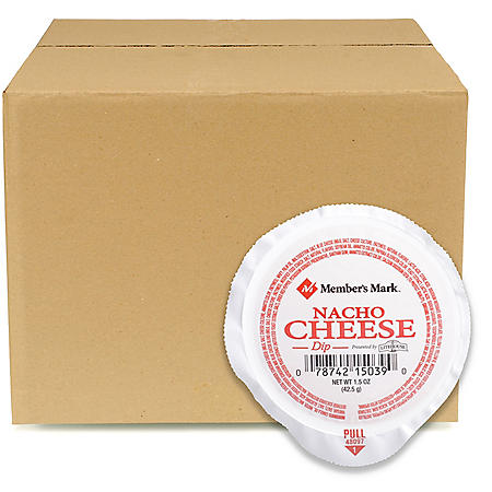 Case Sale: Member's Mark Nacho Cheese Dip (1.5 oz. ea., 108 ct.)