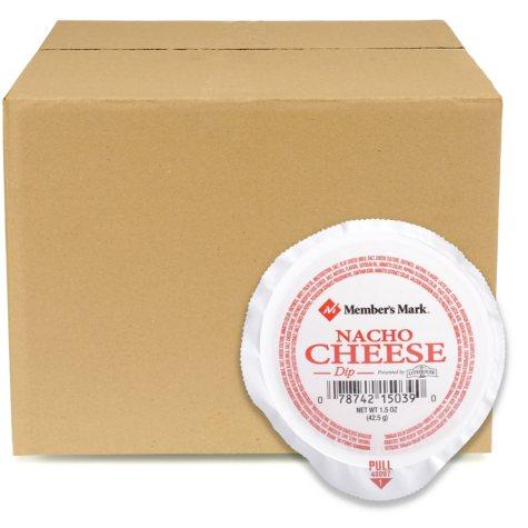Case Sale: Member's Mark Nacho Cheese Dip (1.5 oz. ea., 108 ct.)