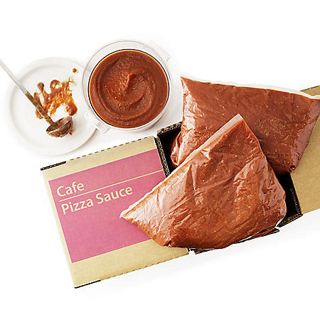 Deluxe Pizza Sauce, Bulk Wholesale Case (168 oz. ea., 4 pouches)
