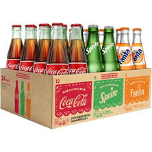 Coca-Cola de Mexico Variety Pack (355 ml bottles, 24 pk.)