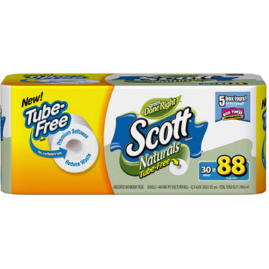 Scott Tube Free Bath Tissue