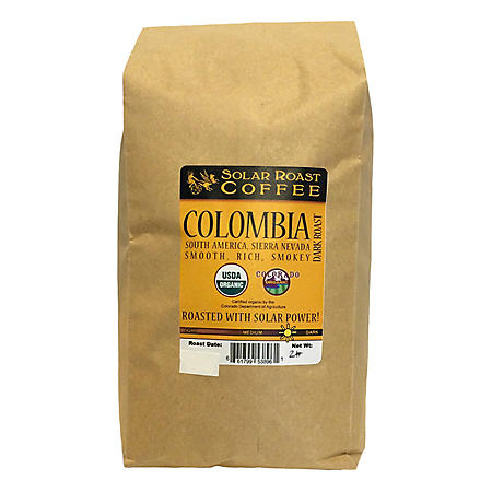 Solar Roast Whole Bean Coffee (2 lbs.)