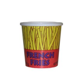 Gold Medal French Fry Plastic Cup, Various Sizes (500 ct.)