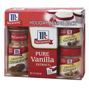 McCormick® Holiday Baking Pack