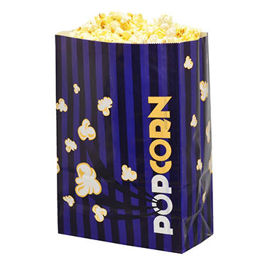 Gold Medal Laminated Popcorn Bags, 5.5 oz. (500 ct.)