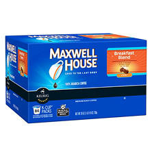 Maxwell House Breakfast Blend Coffee (84 K-Cups)