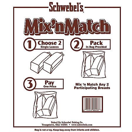 Schwebel Mix n Match Bread