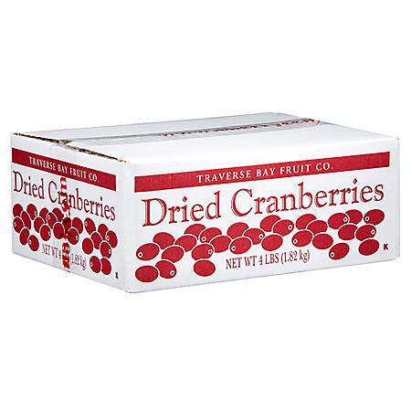 Traverse Bay Fruit Co. Dried Cranberries (4 lbs.)