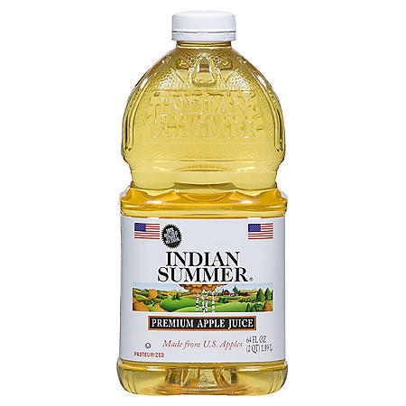 Indian Summer Premium Apple Juice (64 fl. oz., 8 ct.)