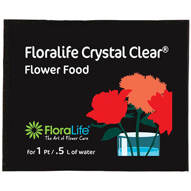 Floralife Crystal Clear Flower Food - 1200ct