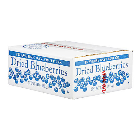 Traverse Bay Fruit Co. Dried Blueberries (4 lbs.)