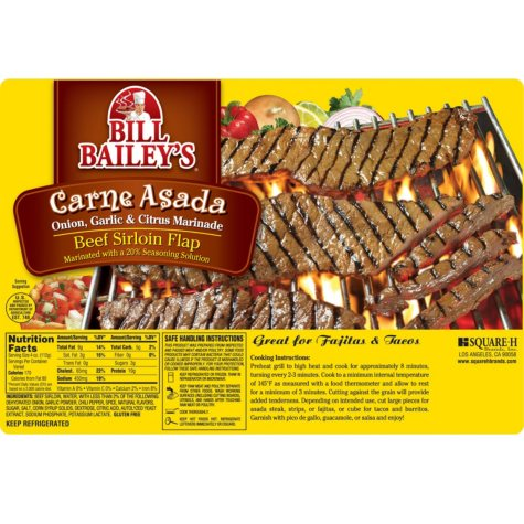 Bill Bailey's Carne Asada (priced per pound)