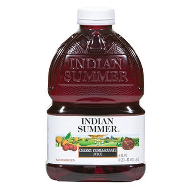 Indian Summer Cherry Pomegranate Juice - 8 pk. - 46 oz.
