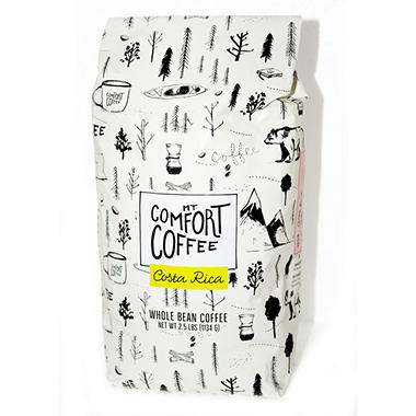 Mount Comfort Costa Rica Whole Bean Coffee (2.5 lb.)