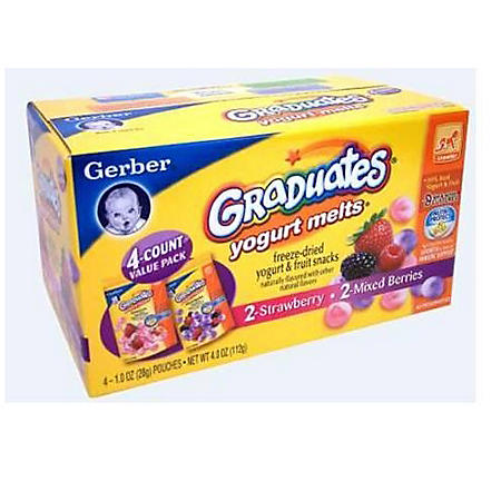 Gerber® Graduates® Yogurt Melts®