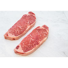 Black Angus USDA Prime New York Strip (10 oz. steaks, 8 ct.)