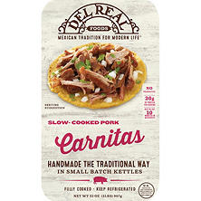 Del Real Pork Carnitas (2 lbs.)