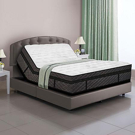 Deluxe Adjustable Base & Dual Digital Air Bed