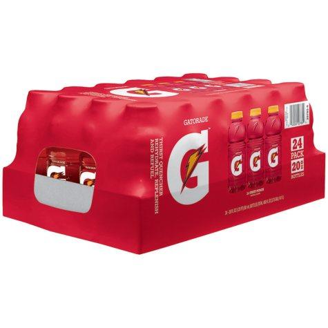 Gatorade G Series Perform 02 - Fruit Punch, 20 oz. bottles (24pk.)