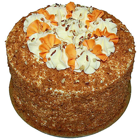 Daily Chef 8 in. Triple Layer Carrot Cake