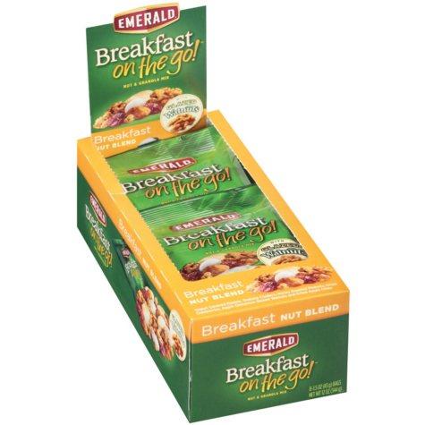 Emerald Breakfast on the Go -  Breakfast Nut Blend  (1.5 oz. pks., 48 ct.)