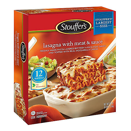 $2.00 off Stouffer's® Lasagna with Meat & Sauce