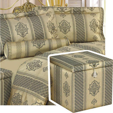 Revo Treasure Chest Bedroom Ensemble - King - 6 pc.