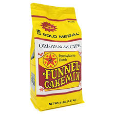 Gold Medal Pennsylvania Deluxe Dutch Funnel Cake Mix (5 lb. bags, 6 ct.)