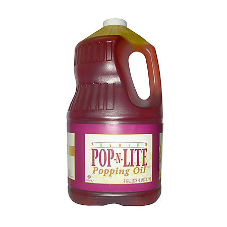 Gold Medal Pop-N-Lite Popping Oil (1 gal., 4 ct.)