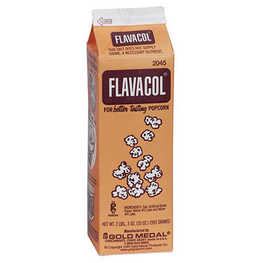Gold Medal Flavacol Seasoning Salt Packed (2 lbs. 3 oz. cartons, 6 pk.)