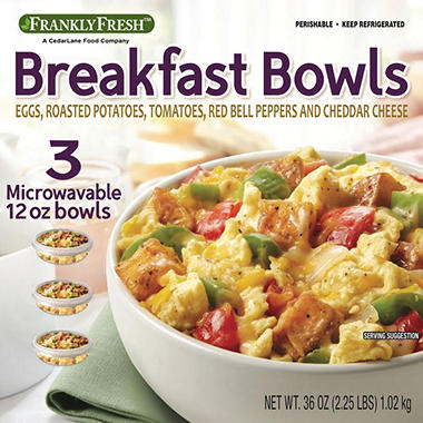 Frankly Fresh Breakfast Bowl (36 oz., 3 pk.)