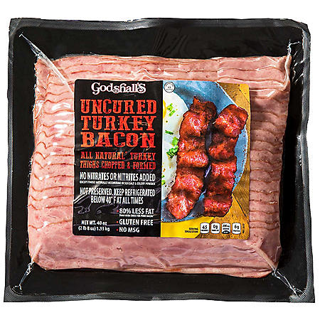 Godshall's Uncured Turkey Bacon (40 oz.)