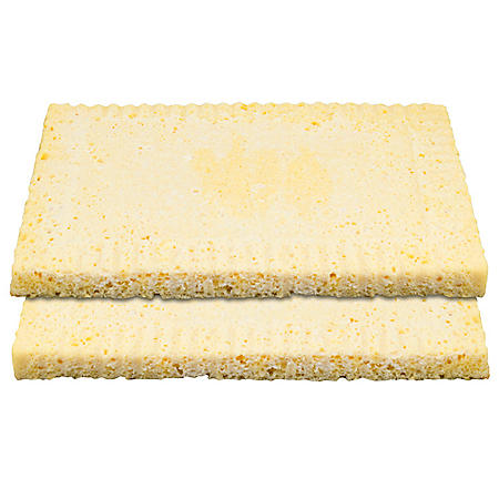 1/4 Sheet Presoaked Tres Leches Cake Layers, Bulk Wholesale Case (8 ct.)