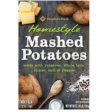 Member's Mark Homestyle Mashed Potatoes (32 oz., 2 ct.)
