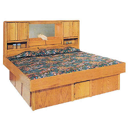 "ASC 14"" Oak King or Queen Underbed Drawers"