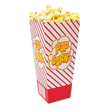 Gold Medal Scoop Popcorn Boxes, 1.25 oz. (500 ct.)