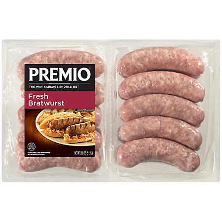 Premio Fresh Bratwurst Links (5 lbs.)