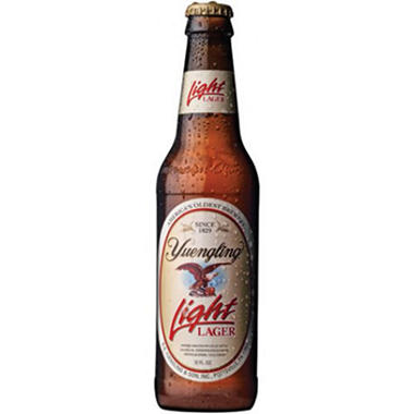 Yuengling Light Beer (12 fl. oz. bottles, 24 pk.)